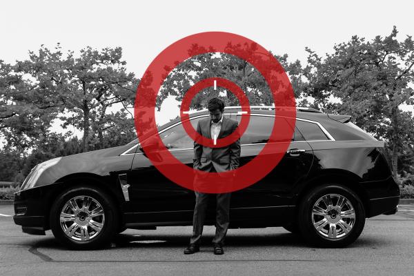 target-man-car
